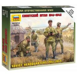 Wargames (WWII) figurky 6132 - Soviet HQ (1:72)