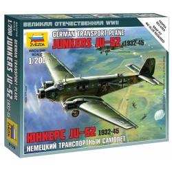 Wargames (WWII) letadlo 6139 - Junkers Ju-52 Transport Plane (1:200)