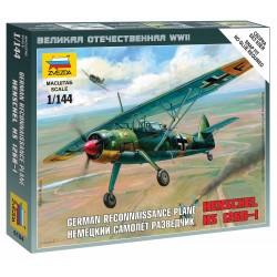 Wargames (WWII) letadlo 6184 - Henschel HS-126B (1:144)