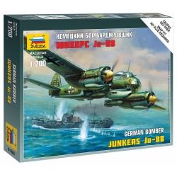 Wargames (WWII) letadlo 6186 - Junkers Ju-88A4 (1:200)