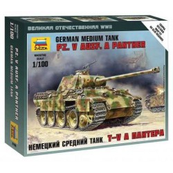 Wargames (WWII) tank 6196 - Pz.V Ausf. A Panther(1:100)
