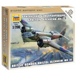Wargames (WWII) letadlo 6230 - British Bomber Bristol Blenheim IV (1:200)