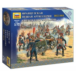 Wargames figurky 6810 - French Foot Artillery (1:72)