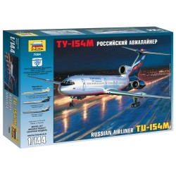 Model Kit letadlo 7004 - Tu-154M Russian Airliner (1:144)