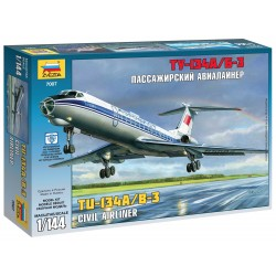 Model Kit letadlo 7007 - Tupolev Tu-134B (1:144)