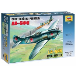 Model Kit letadlo 7203 - Lavotchkin LA-5 FN Soviet Fighter (1:72)