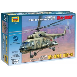 Model Kit vrtulník 7253 - MIL MI-17 Soviet Helicopter (1:72)