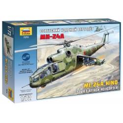 Model Kit vrtulník 7273 - Mil Mi-24A Hind (1:72)