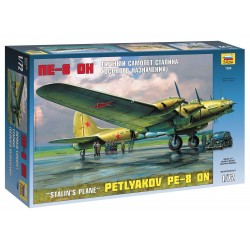 Model Kit letadlo 7280 - Petlyakov Pe-8 ON Stalin´s Plane (re-release) (1:72)