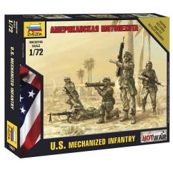 Wargames (HW) figurky 7407 - American Infantry (1:72)
