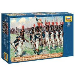 Wargames (AoB) figurky 8030 - French Emperors Old Guards 1805-1815 (1:72)