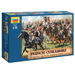 Wargames (AOB) figúrky 8037 - French Cuirassiers 1807-1815 (1:72)
