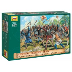Wargames (AOB) figúrky 8059 - Medieval Peasant Army (1:72)
