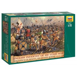 Wargames (AOB) figúrky 8060 - English Infantry 100 Years War (1:72)