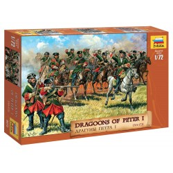 Wargames (AOB) figúrky 8072 - Dragoons of Peter the Great (1:72)