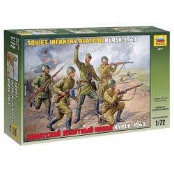 Wargames figurky 8077 - Soviet Infantry WWII (1:72)