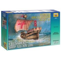 Model Kit loď 9024 - Crusaders Ship XII-XIV cen. (re-release) (1:72)