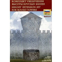 Wargames (AoB) budova 8524 - For Round Towers (1:72)