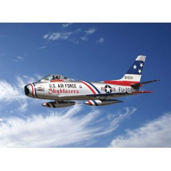"Model Kit letadlo 2684 - 1:48 F-86F Sabre ""Skyblazers"" (1:48)"