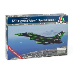 "Model Kit letadlo 2694 - F-16 FIGHTING FALCON ""SPECIAL COLORS"" (1:48)"