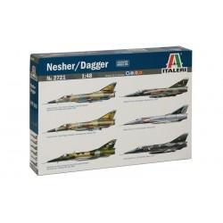 Model Kit letadlo 2721 - NESHER/ DAGGER (1:48)
