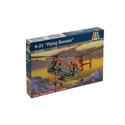 "Model Kit vrtulník 1315 - H-21 ""FLYING BANANA"" (1:72)"