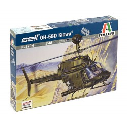 Model Kit vrtulník 2704 - OH-58D KIOWA (1:48)
