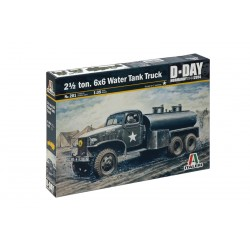 Model Kit military 0201 - 2 1/2 Ton, 6x6 Water Tank Truck (1:35)