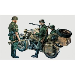 Model Kit military 0315 - BMW R75 with Sidecar (1:35)