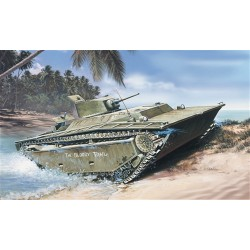 Model Kit military 6384 - LVT(A)-1 ALLIGATOR (1:35)