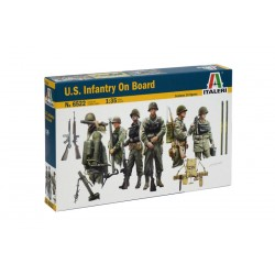 Model Kit figurky 6522 - U.S. INFANTRY ON BOARD (1:35)