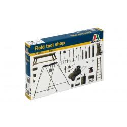 Model Kit doplňky 0419 - FIELD TOOL SHOP (1:35)