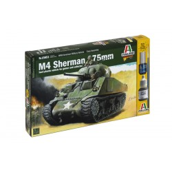 Wargames tank 15651 - M4 SHERMAN 75mm (1:56)