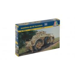 Model Kit military 7064 - AUTOBLINDA AB 40 FERROVIARIA (1:72)