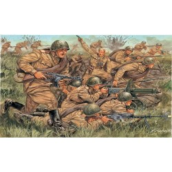 Model Kit figurky 6057 - WWII - RUSSIAN INFANTRY (1:72)