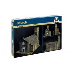Model Kit diorama 6174 - CHURCH (1:72)