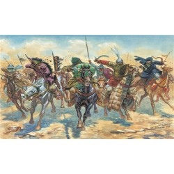 Model Kit figurky 6882 - MEDIEVAL ERA - ARAB WARRIORS (1:32)