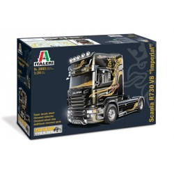 "Model Kit truck 3883 - SCANIA R V8 TOPLINE "" IMPERIAL"" (1:24)"
