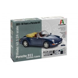 Model Kit auto 3679 - PORSCHE 911 CARRERA CABRIO (1:24)