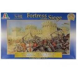 Wargames hra 6102 - BATTLE GAME SET SIEGE OF THE CASTLE (1:72)
