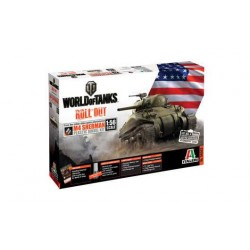 Model Kit World of Tanks 56503 - M4 Sherman (1:56)