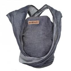 ByKay šátek WOVEN WRAP DeLuxe Dark Jeans (vel. 6)
