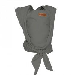 ByKay šátek WOVEN WRAP DeLuxe Steel Grey (vel. 6)