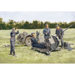 Model Kit military 6288 - 2cm FLAK 38 mit Sd.Ah.51 (1:35)