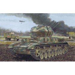 "Model Kit tank 6342 - FLAKPANZER IV AUSF. G ""WIRBELWIND"" EARLY PRODUCTION (1:35)"