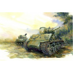 Model Kit tank 6354 - SHERMAN M4A3 (105mm) HVSS (1:35)