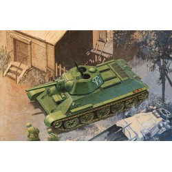 Model Kit tank 6424 - T-34/76 Mod.1942, HEXAGONAL TURRET SOFT EDGE TYPE (SMART KIT) (1:35)