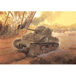 "Model Kit tank 6441 - M4 SHERMAN ""COMPOSITE HULL"" PTO (SMART KIT) (1:35)"