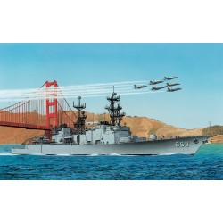Model Kit loď 7084 - U.S.S. SPRUANCE DD-963 (PREMIUM EDITION) (1:700)