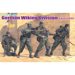 Model Kit figurky 6519 - GERMAN WILING DIVISION KOVEL 1944 (1:35)